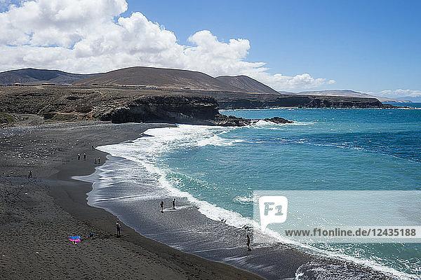 Ajuy Beach  Puerto de la Pena  Fuerteventura  Canary Islands  Spain  Atlantic  Europe