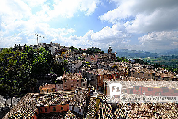 Rocca Malatestiana  Malatesta Castle  Verucchio  Rimini  Emilia Romagna  Italy  Europe