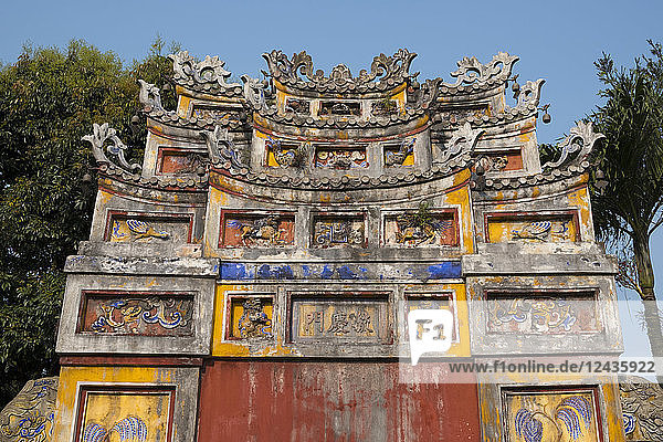 The Chuong Duc Gate in the Imperial City in the Hue Citadel  UNESCO World Heritage Site  Hue  Vietnam  Indochina  Southeast Asia  Asia