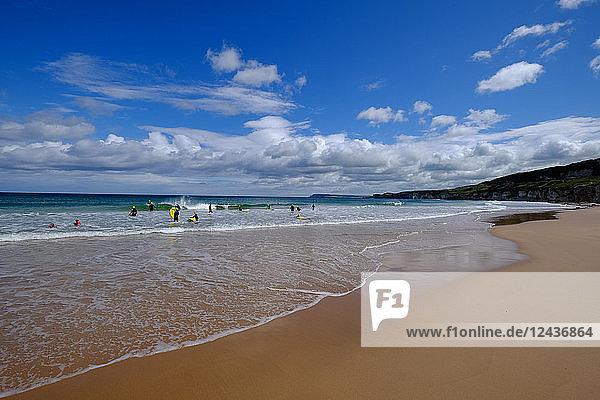 White Rocks beach  near Portrush  County Antrim  Ulster  Northern Ireland  United Kingdom  Europe