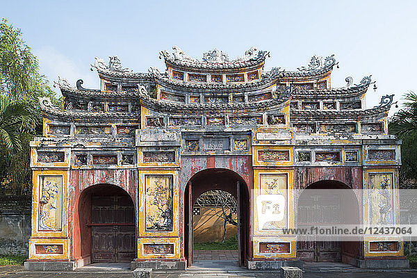 The Chuong Duc Gate in the Hue Imperial City  The Citadel  UNESCO World Heritage Site  Hue  Vietnam  Indochina  Southeast Asia  Asia
