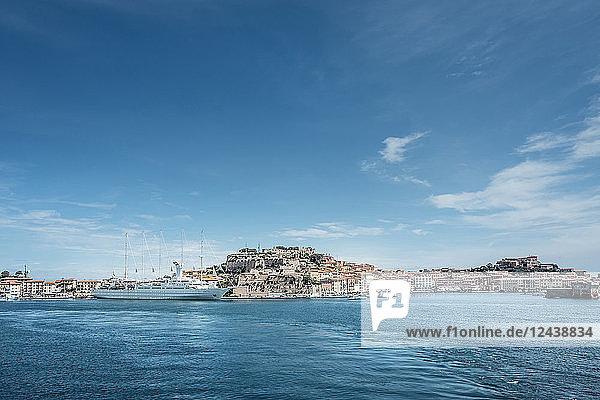 Italy  Tuscany  Elba  Harbour of Portoferraio