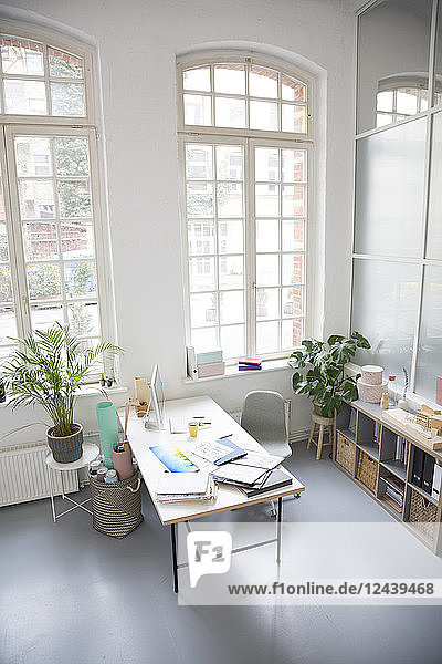 Interior of a business loft office