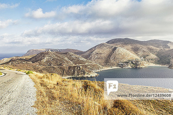Greece  Peloponnese  Laconia  Mani peninsula  Bay of Marmari and Cape Tenaro