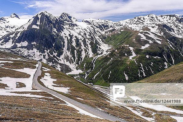 Switzerland  Valais  Nufenen Pass