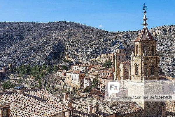 Albarracin  Teruel  Aragon  Spain  Europe.