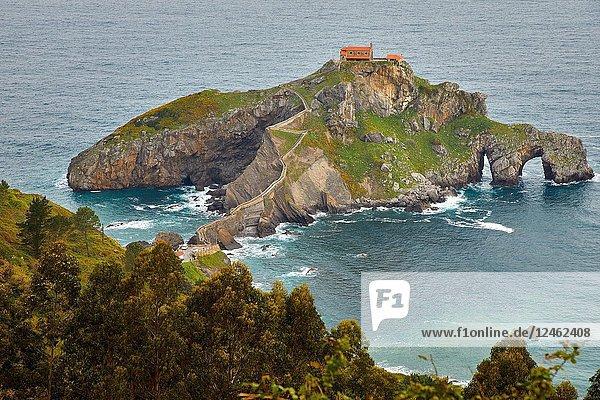 San Juan de Gaztelugatxe  Bizkaia  Basque Country  Spain  Europe