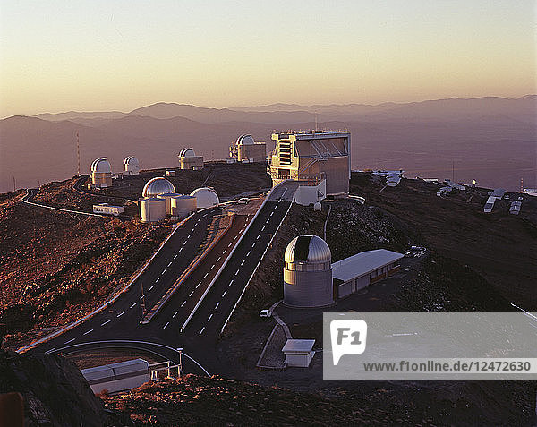 Concept artwork of the European Extremely Large Telescope in Chile