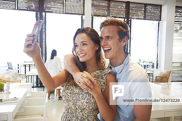 Young couple at hotel in Ko Samui  Thailand