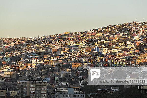 Stadtbild von Valparaiso  Chile