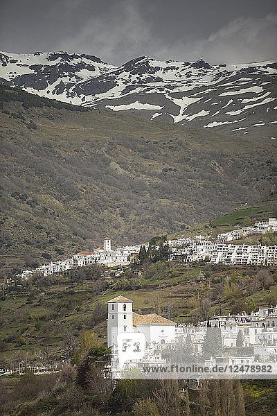 Die Städte Bubion und Capileira in Spanien