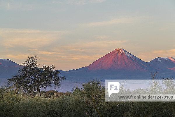 Licancabur volcano in Atacama Desert  Chile