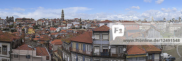 Old Houses Of The Historic City Center Of Oporto  Portugal