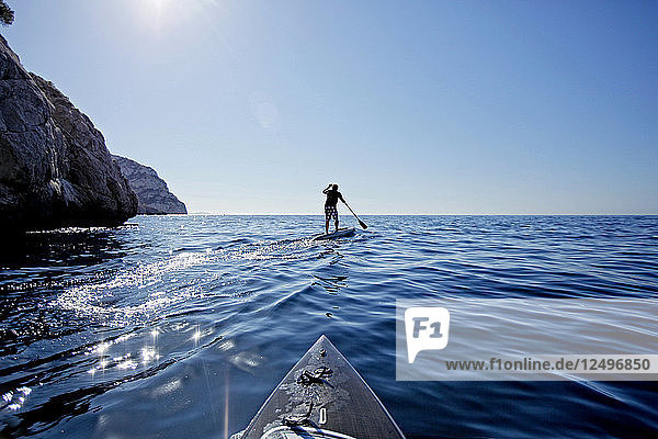 Stroll  Stand Up Paddle  and sip Along the Marseille Calanques.