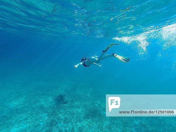Snorkeling at Belize
