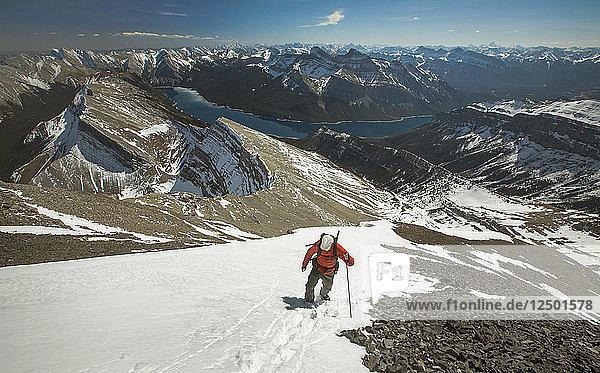 Mount Aylmer  Banff National Park  Canada