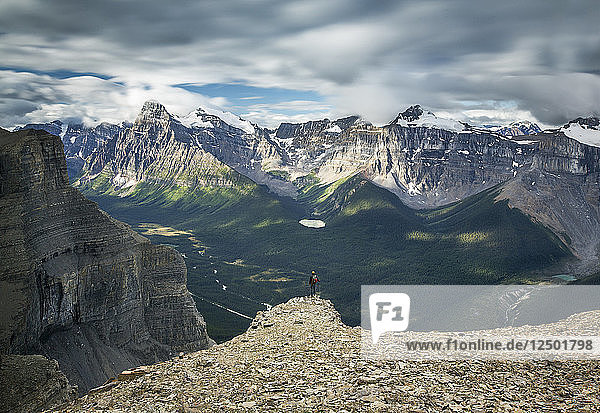 View Of Mount Murchison In Alberta  Canada