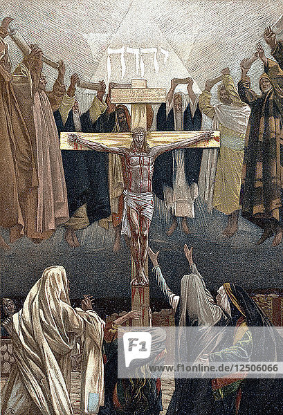 It is Finished: Christs last words from the Cross  c1890. Artist: James Tissot