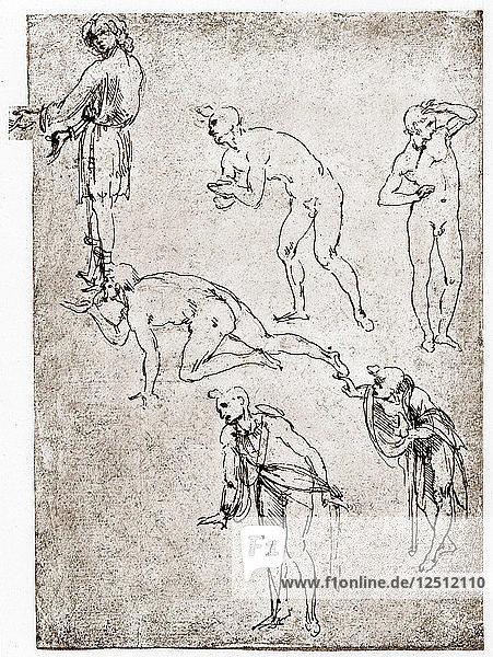 Adoration of the Shepherds  c1478-1480. Artist: Leonardo da Vinci