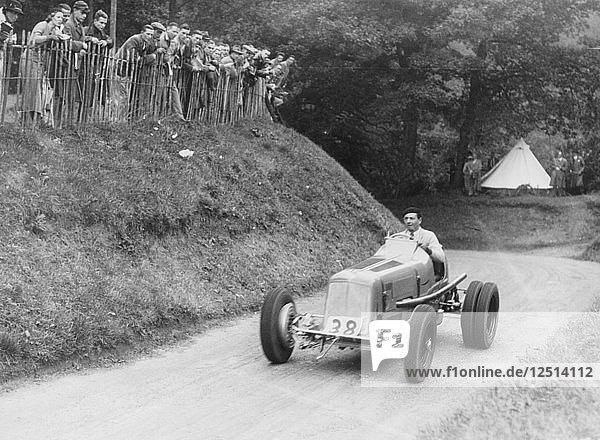 Raymond Mays in an ERA car  c1934-c1939. Artist: Unknown