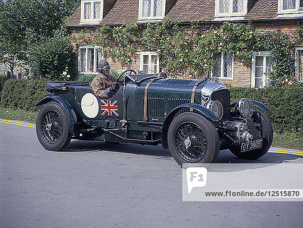 1931 Bentley 4.5 litre Supercharged. Artist: Unknown