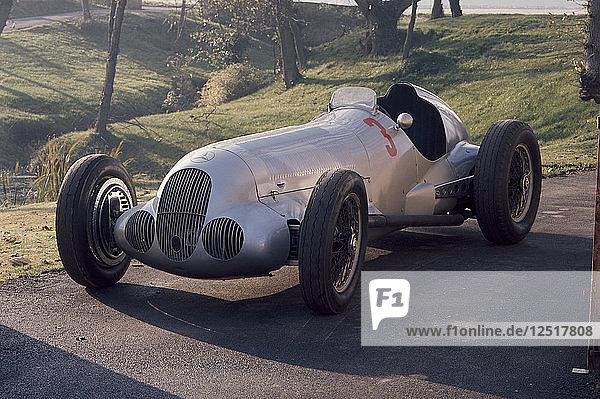 1937 Mercedes Benz W125. Artist: Unknown