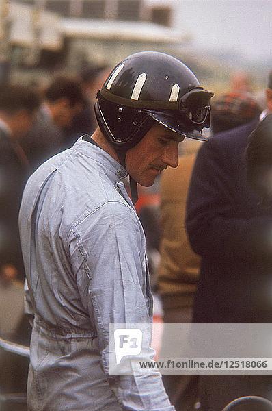 Graham Hill  Dutch Grand Prix  Zandvoort  1964. Artist: Unknown