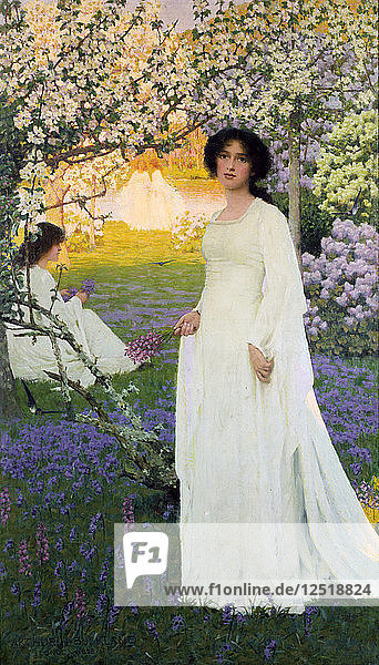 Spring  circa 1900s Artist: Arthur Herbert