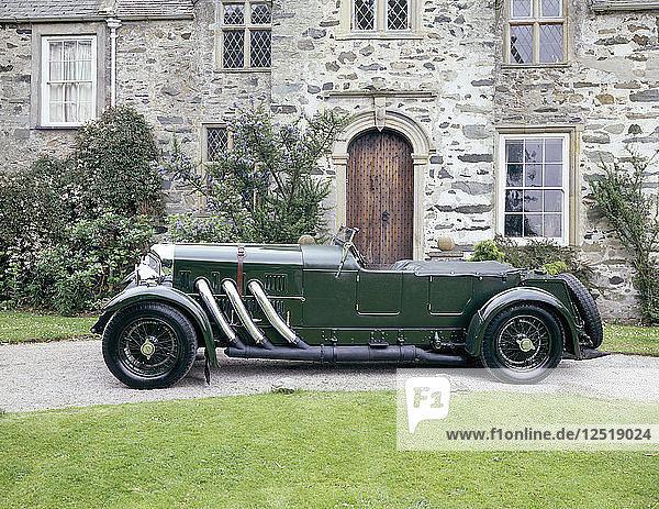 A 1932 Bentley 8 litre. Artist: Unknown