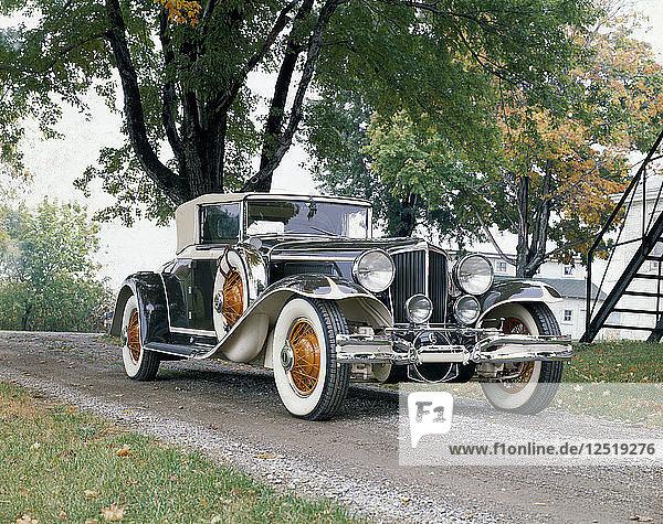 A 1931 Cord L-29. Artist: Unknown