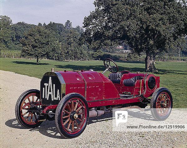 1907 Itala 120hp car. Artist: Unknown