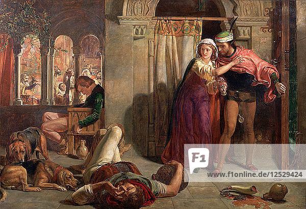 The Eve of St Agnes  1848. Artist: William Holman Hunt