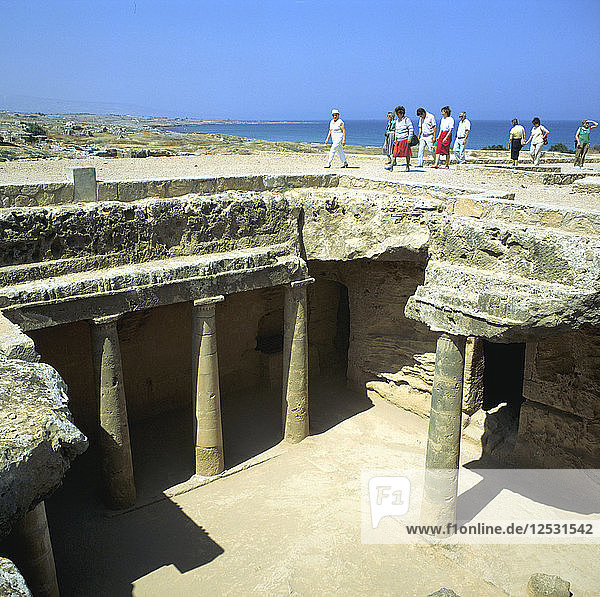 Tombs of the Kings  Paphos  Cyprus