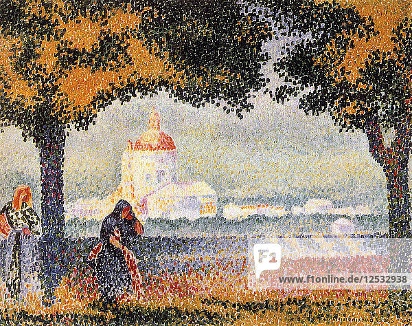 The Church of Santa Maria degli Angely Near Assisi  1909. Artist: Henri Edmond Cross