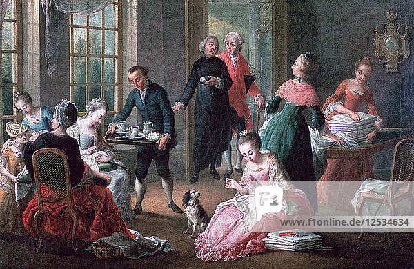 Afternoon Tea  1778. Artist: Jan Garemijn