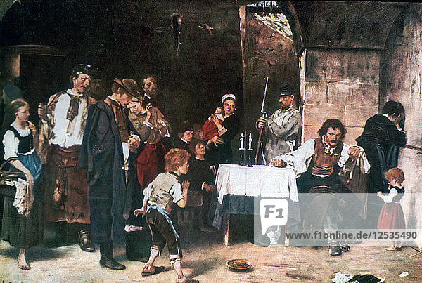 The Condemned Cell  c1864-1900. Artist: Mihaly Munkacsy