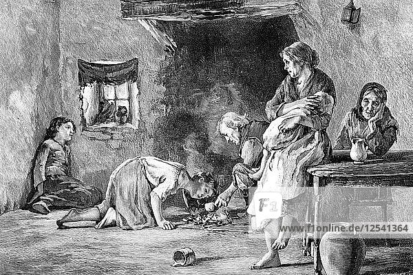 The Irish Famine  1845-1849  (1900). Artist: Unknown