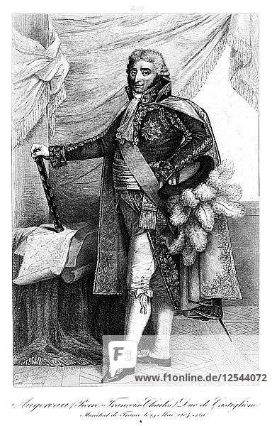 Pierre Augereau (1757-1816)  duc de Castiglione  1839.Artist: Francois Pigeot