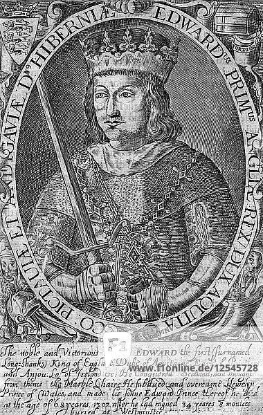 Edward I  King of England. Artist: Unknown