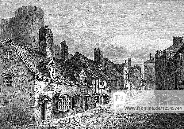 Castle Gate  Shrewsbury  Shropshire  1893. Artist: Unknown