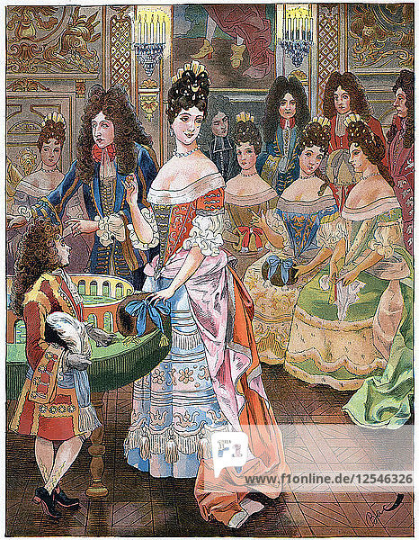 The old age of Louis XIV  c1920s Artist: Unknown