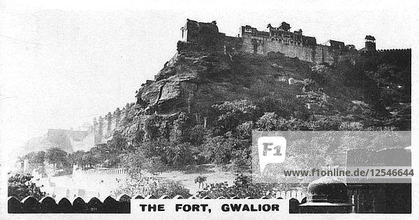 The fort  Gwalior  Madhya Pradesh  India  c1925. Artist: Unknown
