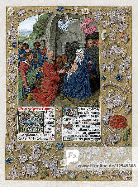 Adoration of the Magi  c1490-1497. Artist: Unknown