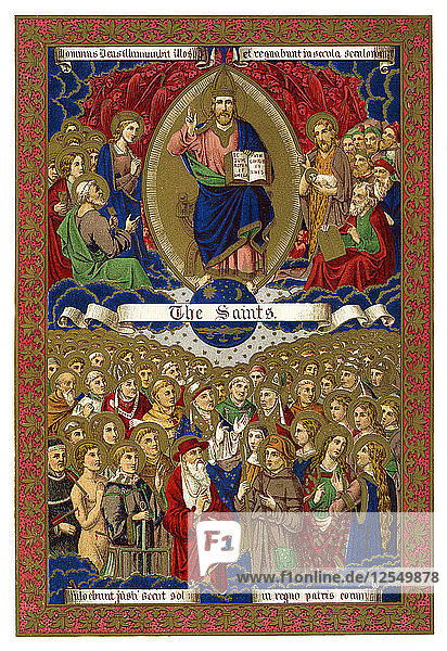 The Saints  1886. Artist: Unknown
