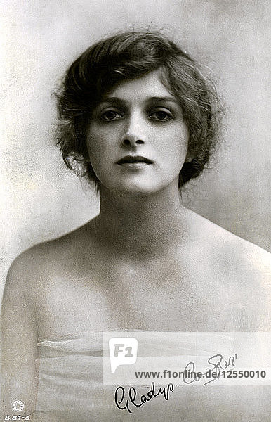 Gladys Cooper (1888-1971)  English actress  early 20th century.Artist: Rotary Photo