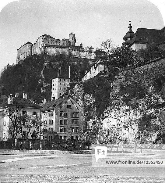 Nonnberg Abbey  Salzburg  Austria  c1900.Artist: Wurthle & Sons