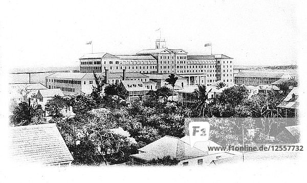 The British Colonial Hilton Hotel  Nassau  New Providence  Bahamas  1911. Artist: Unknown