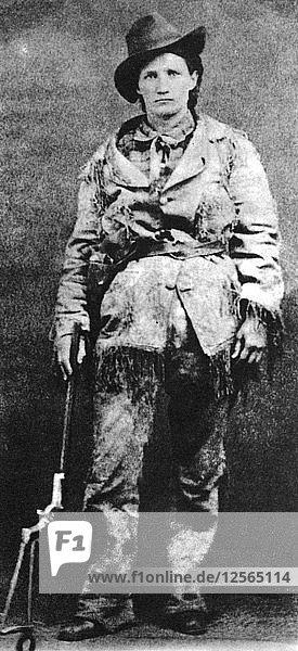 Calamity Jane  General Crooks scout  c1870-1876 (1954). Artist: Unknown