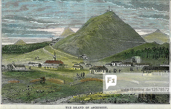 The Island of Ascension  c1880. Artist: Unknown
