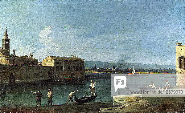 View of Venice  18th century. Artist: Canaletto
